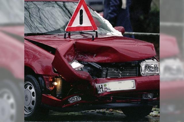 Schnaps nach Unfall