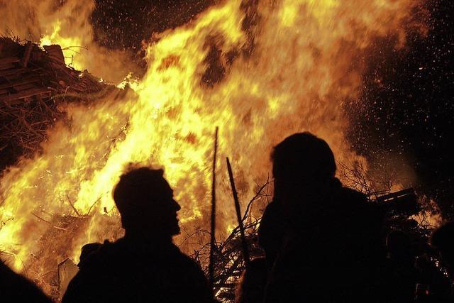 Scheibenfeuer auf im Kreis Lörrach