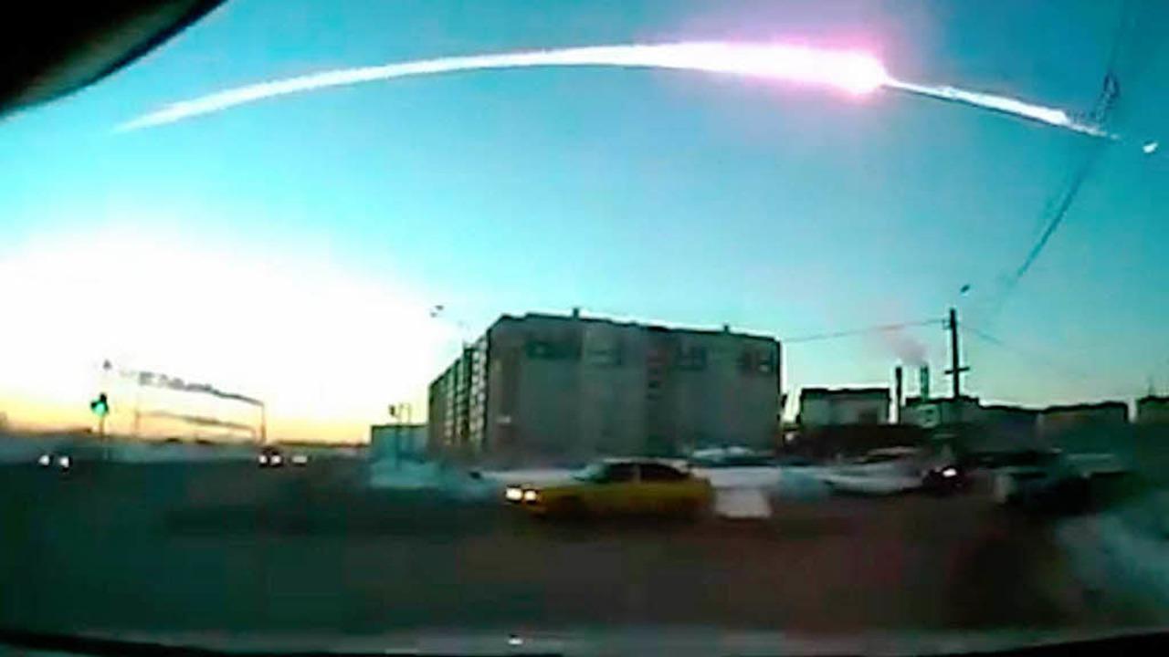 Meteoritenregen in Russland  | Foto: dpa