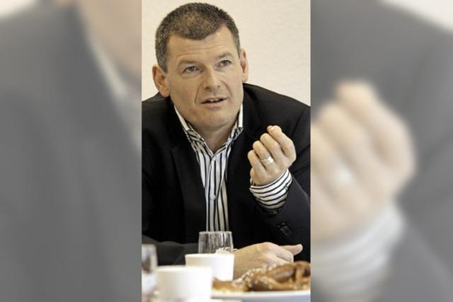 BZ-Interview: Reutes Bürgermeister Michael Schlegel über seine zwei Amtszeiten