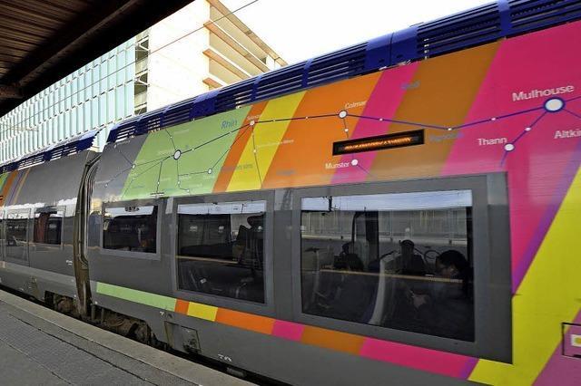 Zugfahren rund um Straßburg immer beliebter