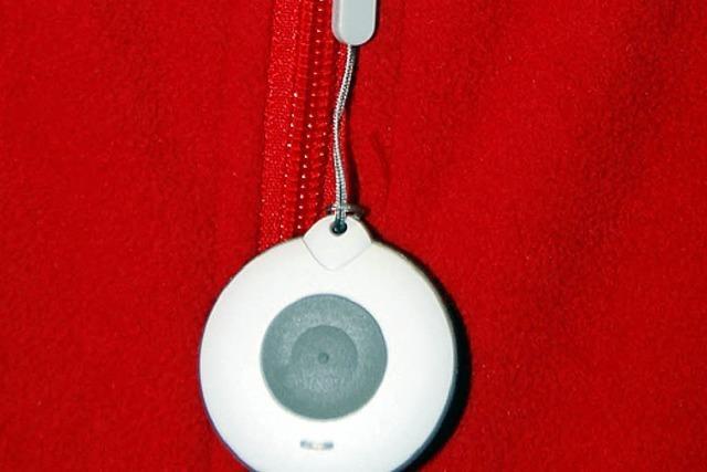 Ein kleiner Knopf, der schnelle Hilfe garantiert