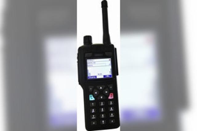 Die Lörracher Polizei bekommt flächendeckenden Digitalfunk
