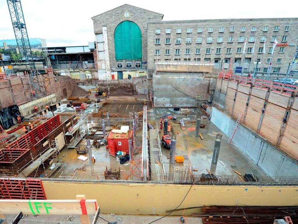 Das Milliardenprojekt Stuttgart 21 könnte an den Kosten scheitern.    Foto: dpa