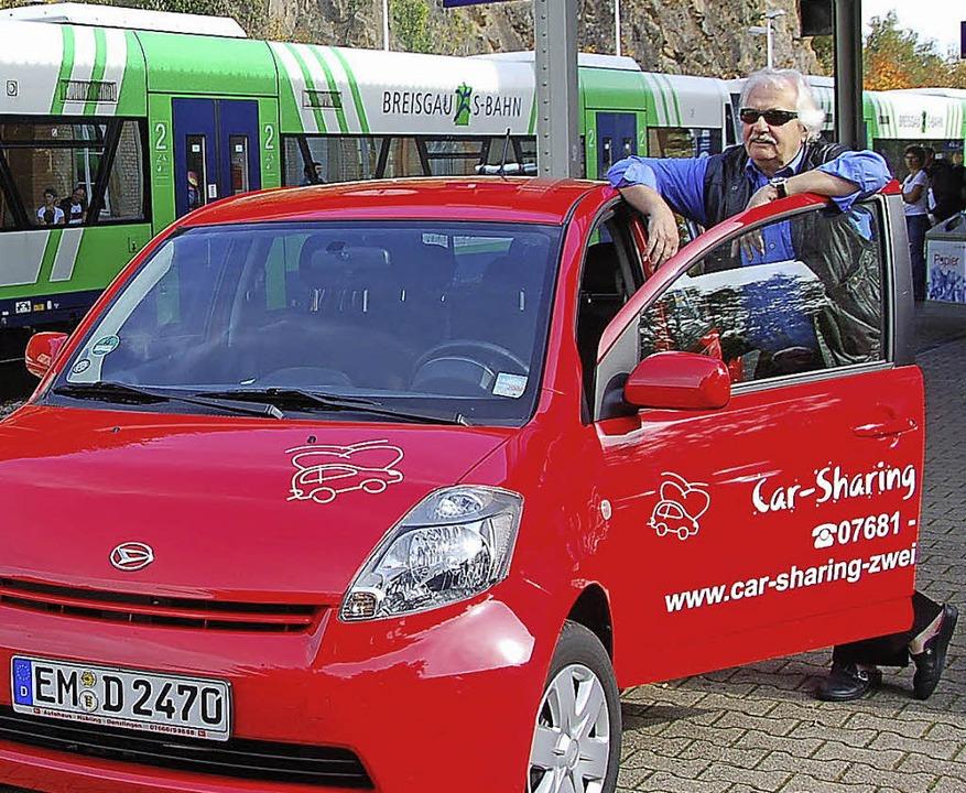 Carsharing gibt es nicht nur in Städte...d eine Flotte mit mehreren Fahrzeugen.    Foto: archivfoto: Sylvia Timm