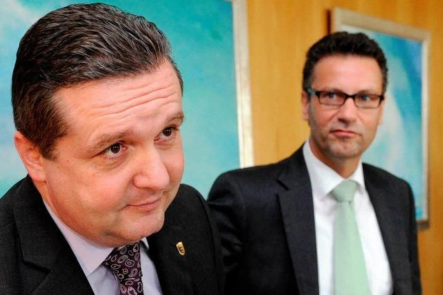 CDU-Fraktionschef Hauk legt Mappus Parteiaustritt nahe