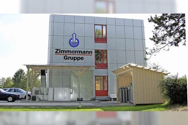 Firma Zimmermann empfängt heute