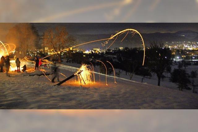 Feuer frei auf die Wintergeister