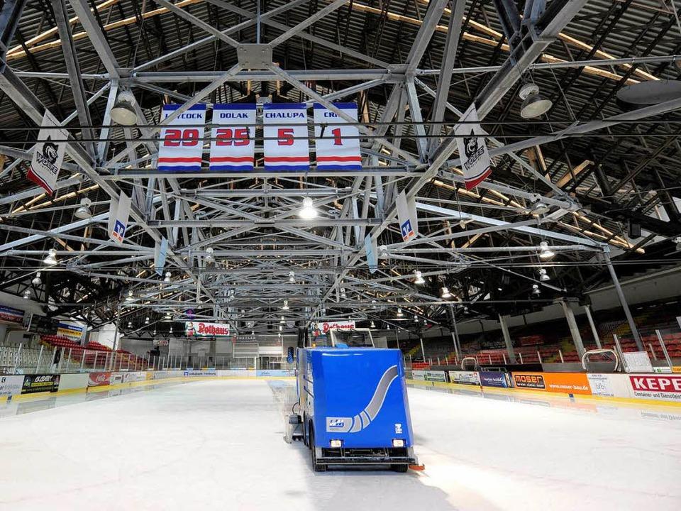Wo in Freiburg wird die Eismaschine künftig ihre Runden drehen?  | Foto: Ingo Schneider