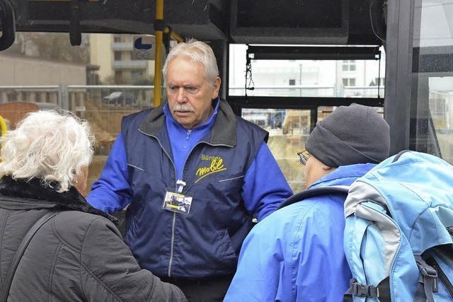 Eine Fahrt mit dem Bad Krozinger Bürgerbus