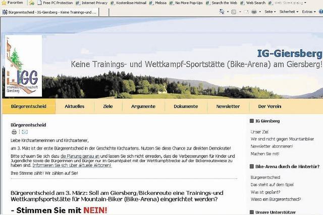 Werbefeldzug in Sachen Giersberg