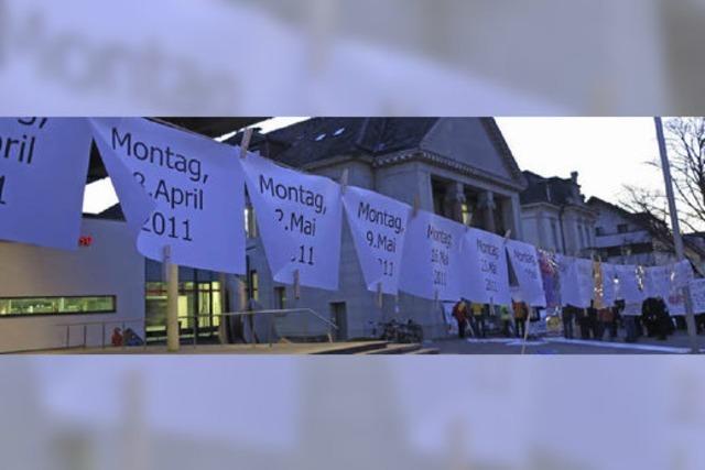 Der 100. Müllheimer Protest-Montag