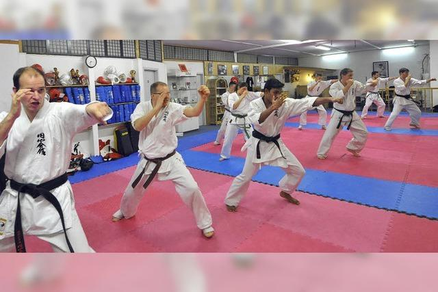 Eine internationale Karate-Familie