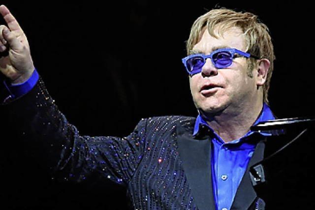 Sir Elton John bei