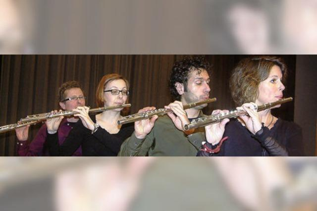 Wenn Flöten zum Singen gebracht werden