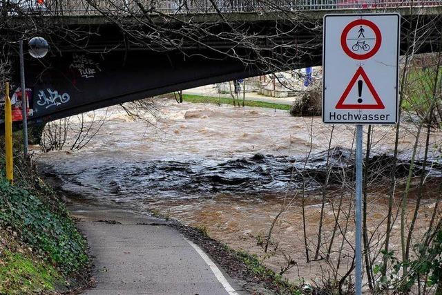 Dreisamuferradweg: Stadt hält den Hochwasserschutz für ausreichend