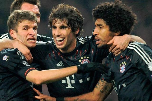 Bayern München gewinnt 3:1 gegen Arsenal