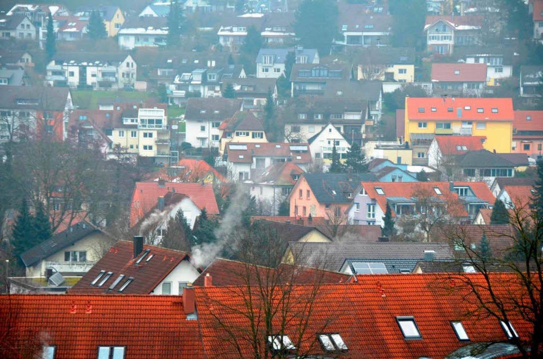 Viele Einwohner, wenig Fläche: In Merzhausen  gibt es kaum noch Platz.  | Foto: Kathrin Blum