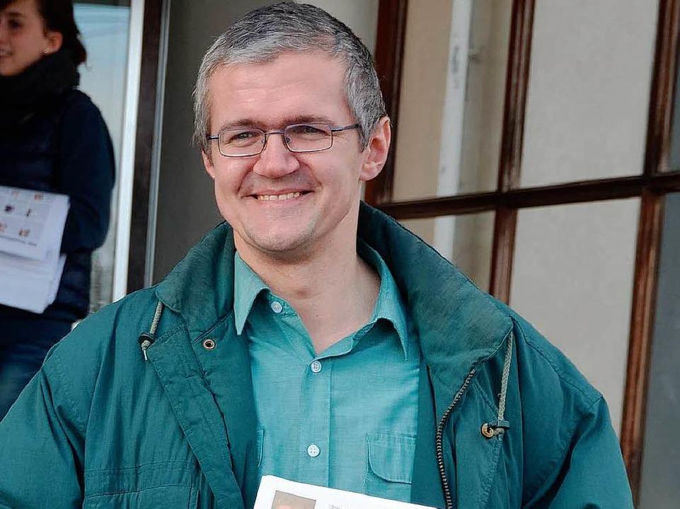 Sein Name wird nicht auf dem Wahlzette...rmeisterwahl stehen: Christian Bärthel    Foto: Axel Kremp