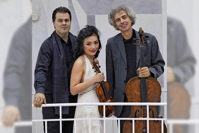 Trio Parnassus in der Stadthalle Wehr