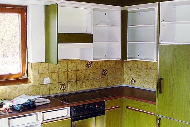 Alte Küche wie neu