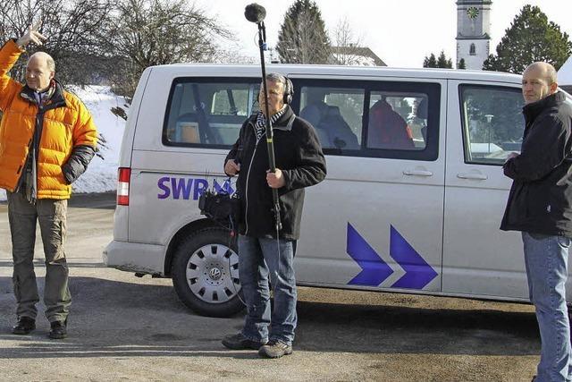 Fernsehteam zu Gast in Grafenhausen