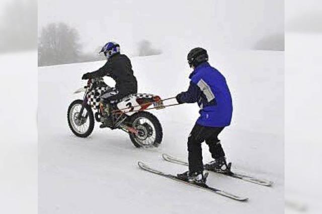 Wettkämpfe im Skijöring