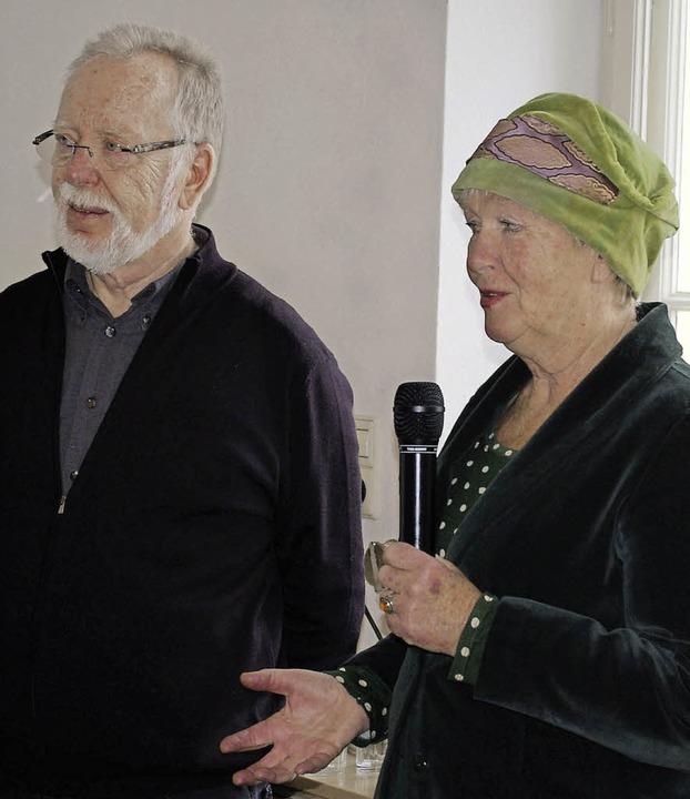 Volker Lindemann begrüßte vom Tagebuch...tinée am Sonntag im Georg-Scholz-Haus.  | Foto: Ernst Hubert Bilke