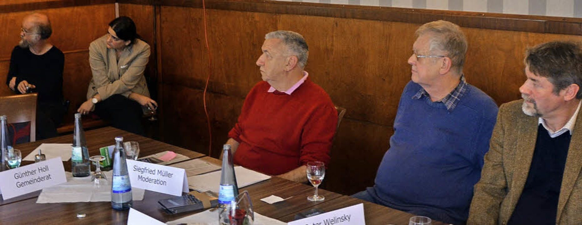 Vorträge gab es beim Pressegespräch de...briele Rasenberger und Thomas Dix zu.   | Foto: Ralf H. Dorweiler