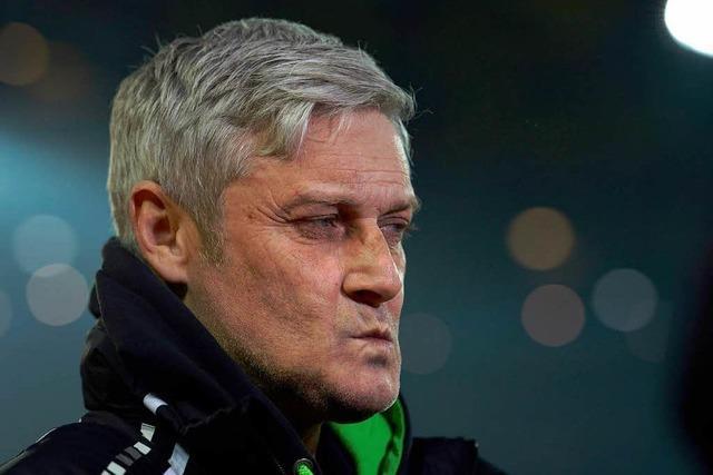 Frankfurt-Coach Veh erwartet gegen Freiburg ein Spiel auf Augenhöhe