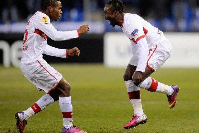 FC Basel und VfB Stuttgart erreichen das Achtelfinale