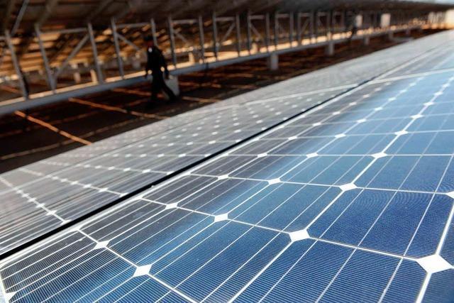 Am Kaiserstuhl geht der größte Solarpark im Land in Betrieb
