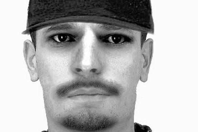 Polizei sucht mit Phantombild nach dem Sexualtäter