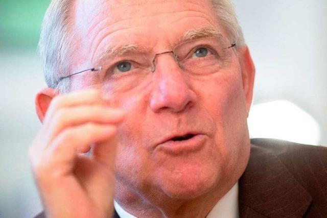 Wolfgang Schäuble: