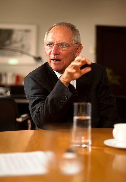 Wolfgang Schäuble      Foto: Christian Schroth