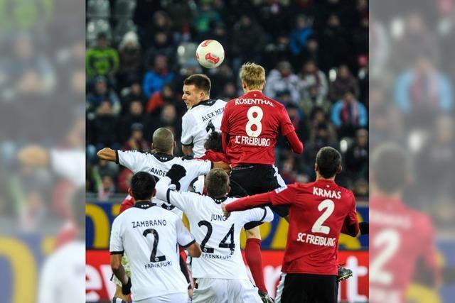 SC Freiburg: Harte Arbeit und ein Punkt als Lohn