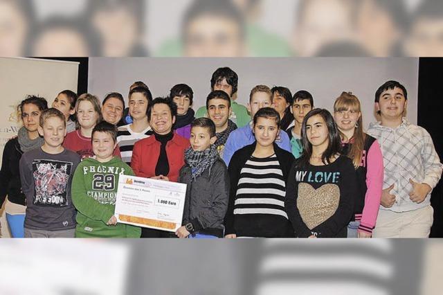 Jugendbildungspreis 2012 für Rudolf-Graber-Schüler