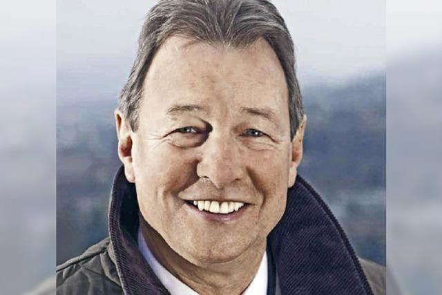 Regierungsrat Peter Zwick ist gestorben