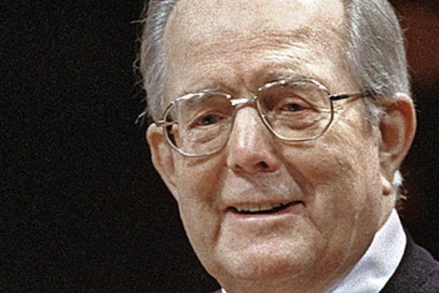 Wolfgang Sawallisch ist 89-jährig gestorben