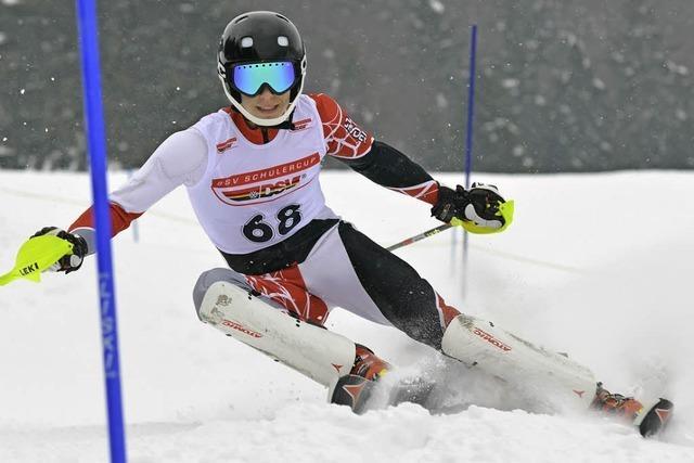 Schülercup in Bernau: Harte Landung auf weichem Schnee