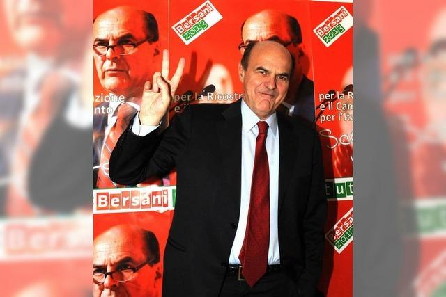 Italien-Wahl: Mitte-Links-Bündnis liegt laut Prognose vorn
