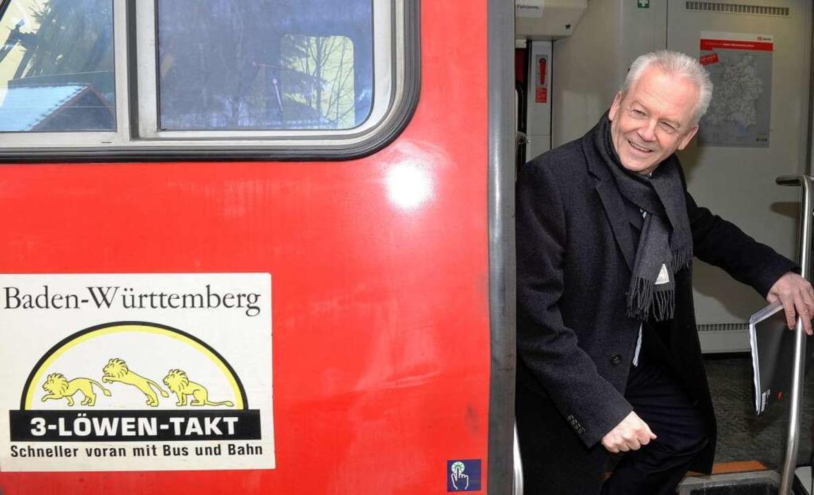 Rüdiger Grube, Chef der Bahn AG.  | Foto: dpa