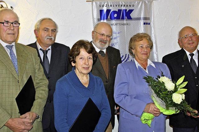 Fritz Rieß wird VdK-Ehrenvorsitzender