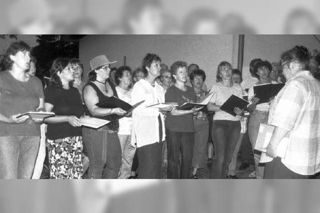 Chor will sein Jubiläum das ganze Jahr über mit Konzerten feiern