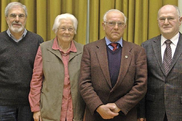 50 Jahre bei Wanderern