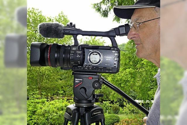 Unterwegs mit dem filmenden Wanderer