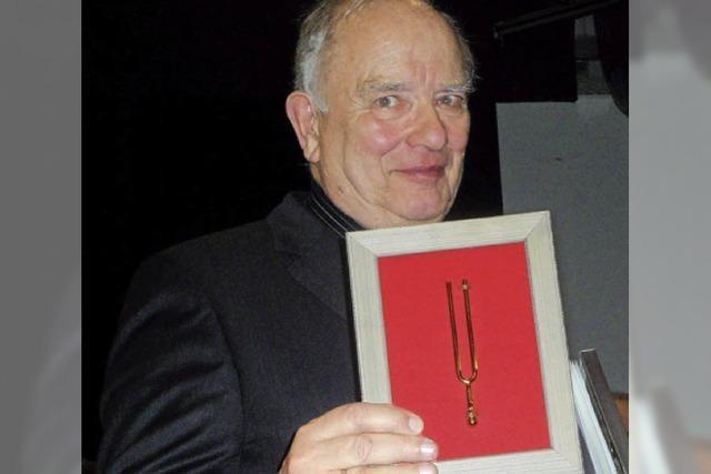 Seit 40 Jahren Dirigent