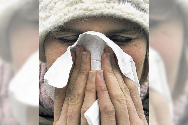 Grippe: Höhepunkt erreicht
