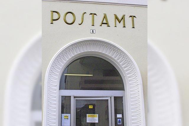 Post schließt Stammhaus