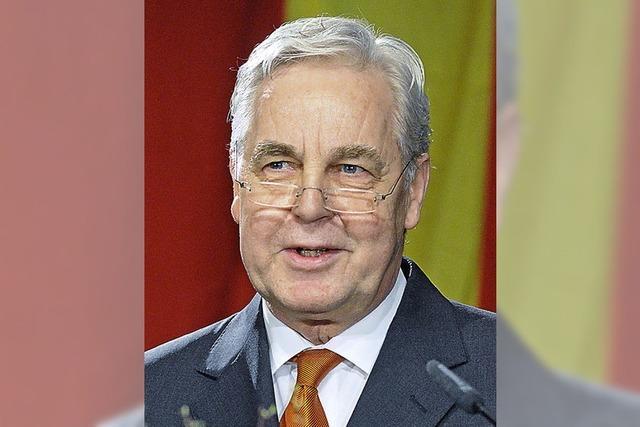 Karlsruhes OB Heinz Fenrich geht mit 68 in Ruhestand